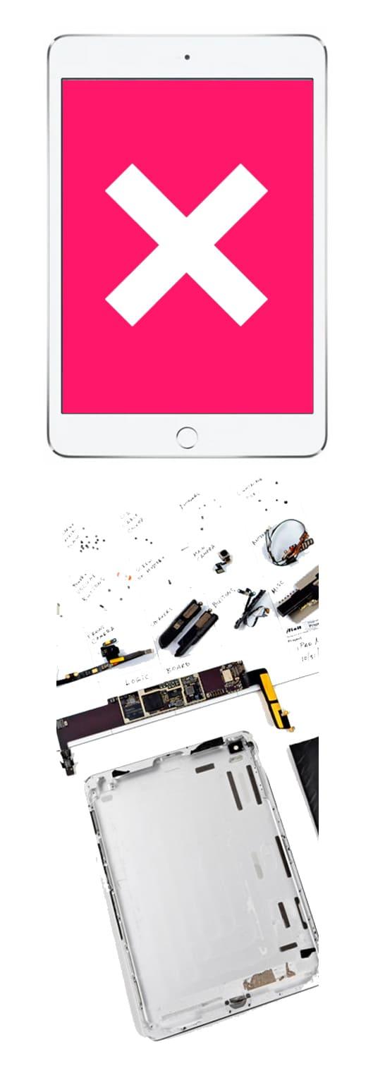 Замена экрана на iPad mini 2, 3, 4 в Нижнем Новгороде