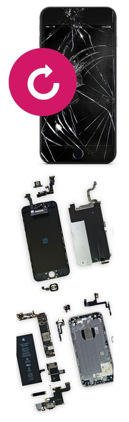 Замена дисплея и экрана на iPhone 6S, 6S Plus в Нижнем Новгороде