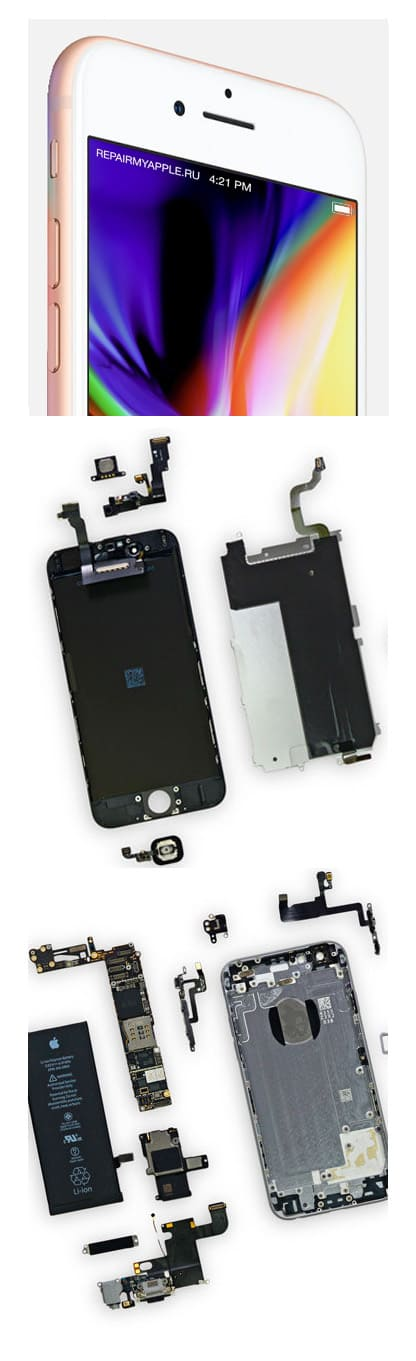ремонт iPhone 8 в Нижнем Новгороде