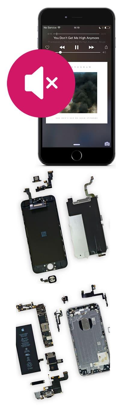 Замена динамика на iPhone 6, 6 Plus в Нижнем Новгороде