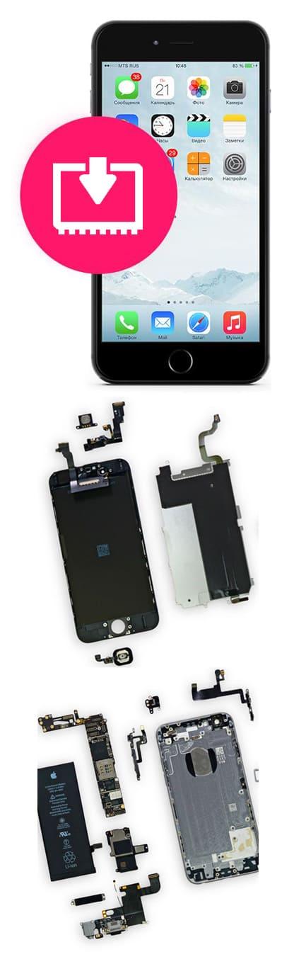 Перепрошивка iPhone в Нижнем Новгороде