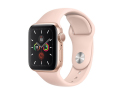 Apple Watch Series 5 44mm Gold Aluminum Case with Pink Sand Sport Band слайд 1