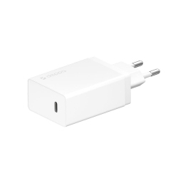 Блок питания USB Type-C, Power Delivery, 30ВТ, белый, Deppa