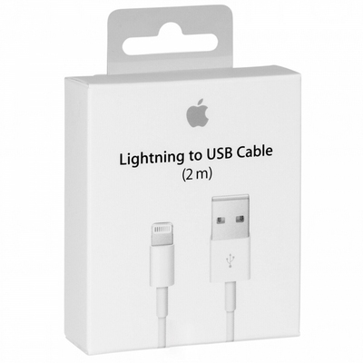 Кабель Apple Lightning/USB (1м) (Аналог AAA) картинка 3