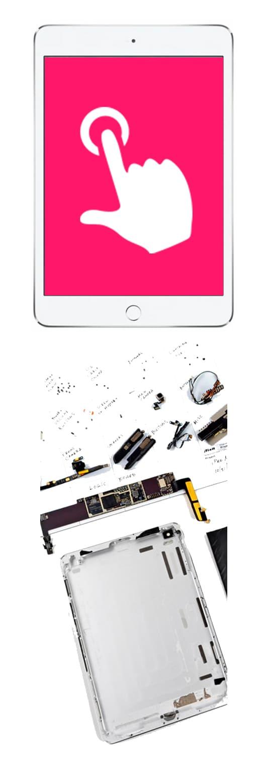 Замена тачскрина, сенсора на iPad в Нижнем Новгороде