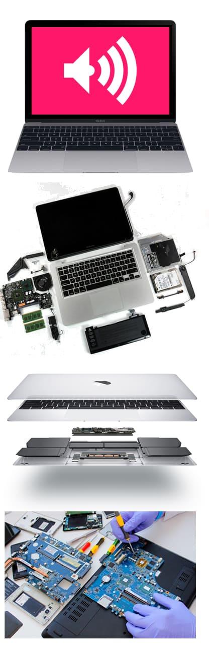 Не работает динамик, микрофон Mac, MacBook, iMac в Нижнем Новгороде