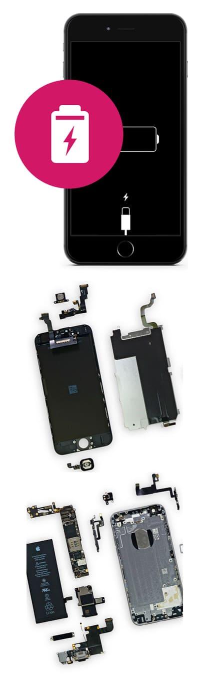 Замена аккумулятора на iPhone 6S, 6S Plus в Нижнем Новгороде