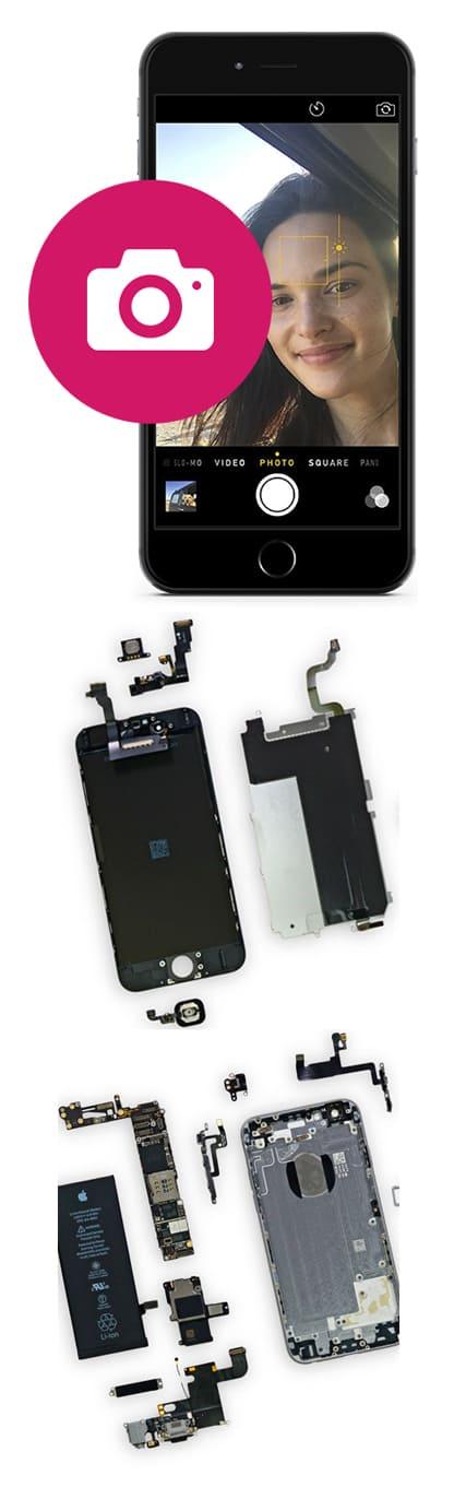 Замена камеры iPhone 6S, 6S Plus в Нижнем Новгороде